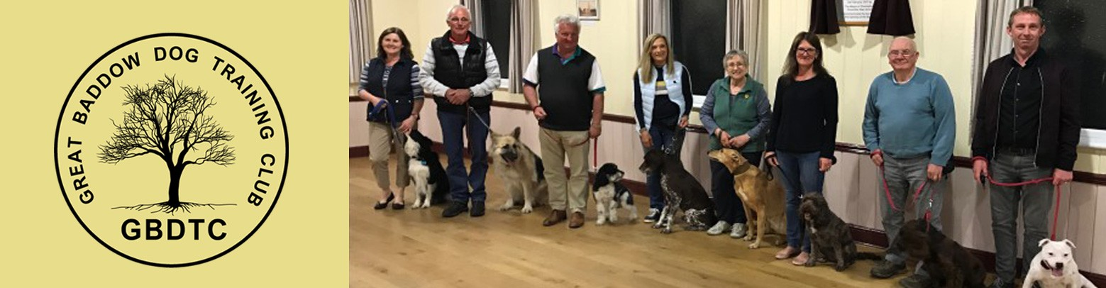 Great Baddow Dog Training Club
